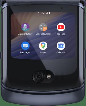 Nuevo RAZR 5G llega a México ¡El icónico smartphone plegable de Motorola, llega renovado! - quick-view-app-tray