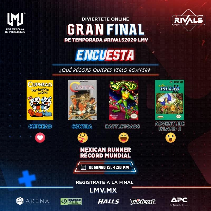 The Mexican Runner listo para batir otro récord en la Gran Final de Temporada #Rivals2020 - rivals_the-mexican-runner