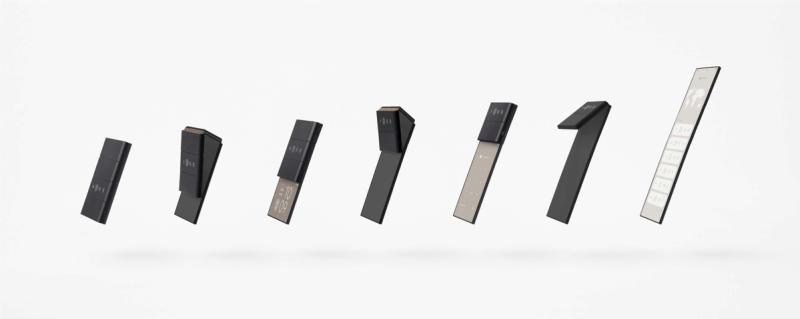 OPPO en alianza con nendo muestran múltiples diseños conceptuales - slide-phone-01-800x319