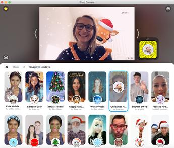 Snapchat celebra la Navidad con nuevos lentes ¡ponte en mood navideño! - snapchat-navidad-lentes_1