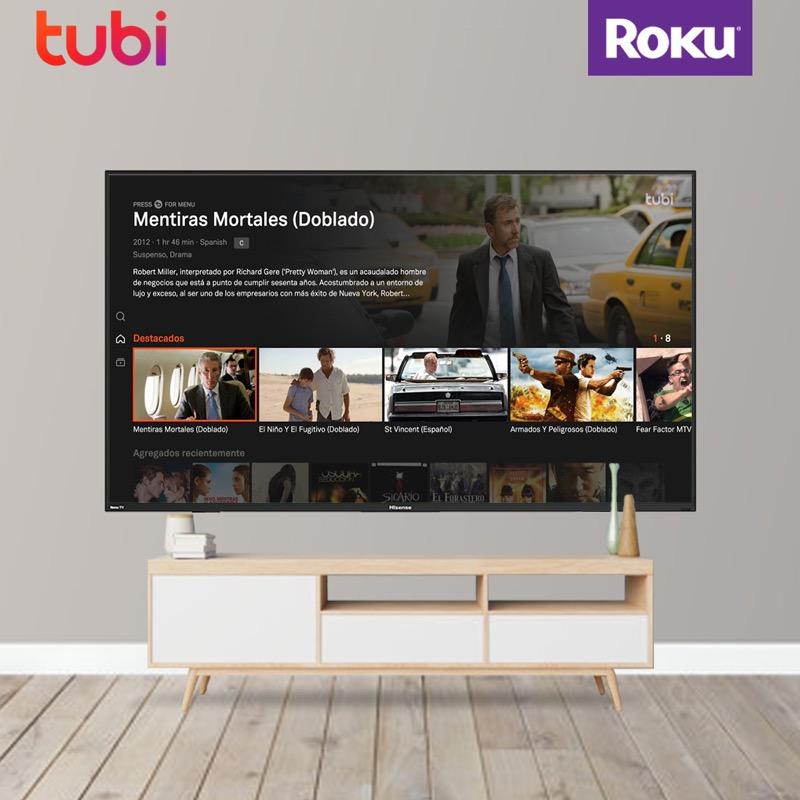Tubi llega de manera oficial a todos los dispositivos Roku en México - tubi-roku-mexico