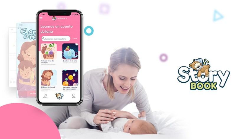 Storybook: app que logra que la hora de dormir de los niños deje de ser una pesadilla - app-storybook-800x471