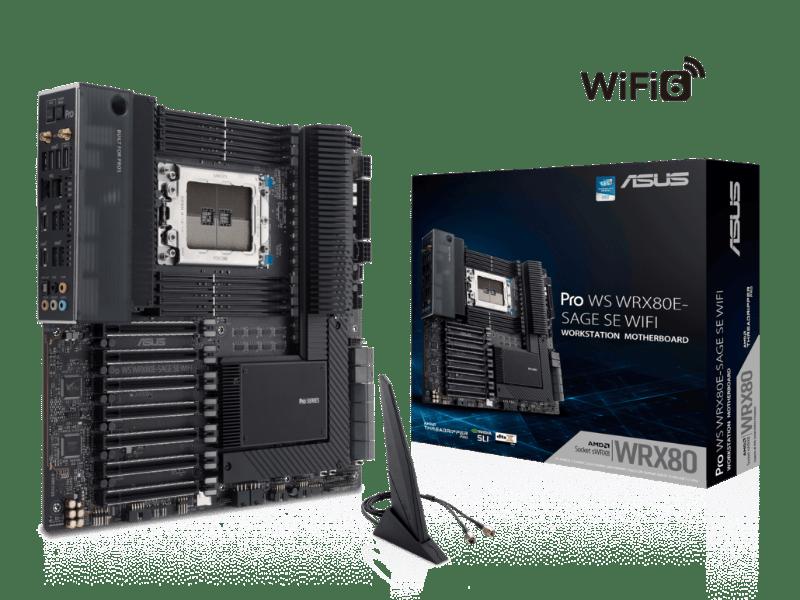 ASUS anuncia motherboard WRX80 Workstation para AMD Ryzen Threadripper PRO - asus-pro-ws-wrx80e-sage-se-wifi-1