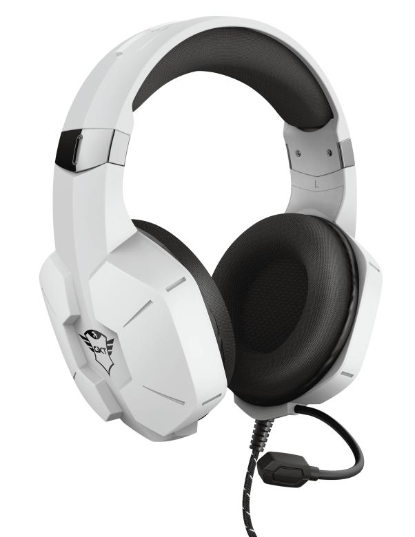 Trust anuncia nuevos productos de su línea Gaming durante CES 2021 - auriculares-gxt-323w-carus-white-playstation-5