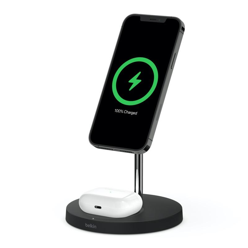 Belkin presenta la próxima generación de Audio SOUNDFORM y accesorios de energía móvil - boost-charge-pro-wireless-charger-stand-magsafe2in1-magsafe-poduct1-800x800