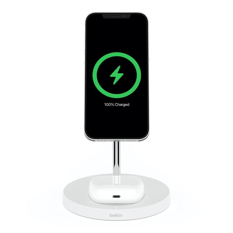 Belkin presenta la próxima generación de Audio SOUNDFORM y accesorios de energía móvil - boost-charge-pro-wireless-charger-stand-magsafe2in1-magsafe-poduct3-800x800