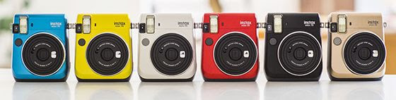 7 tipos de cámaras para iniciarte en la fotografía - camara-instantanea