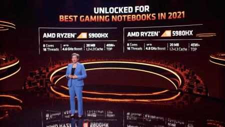 CES 2021: AMD lanza Serie 5000 de Procesadores AMD Ryzen para cómputo portátil