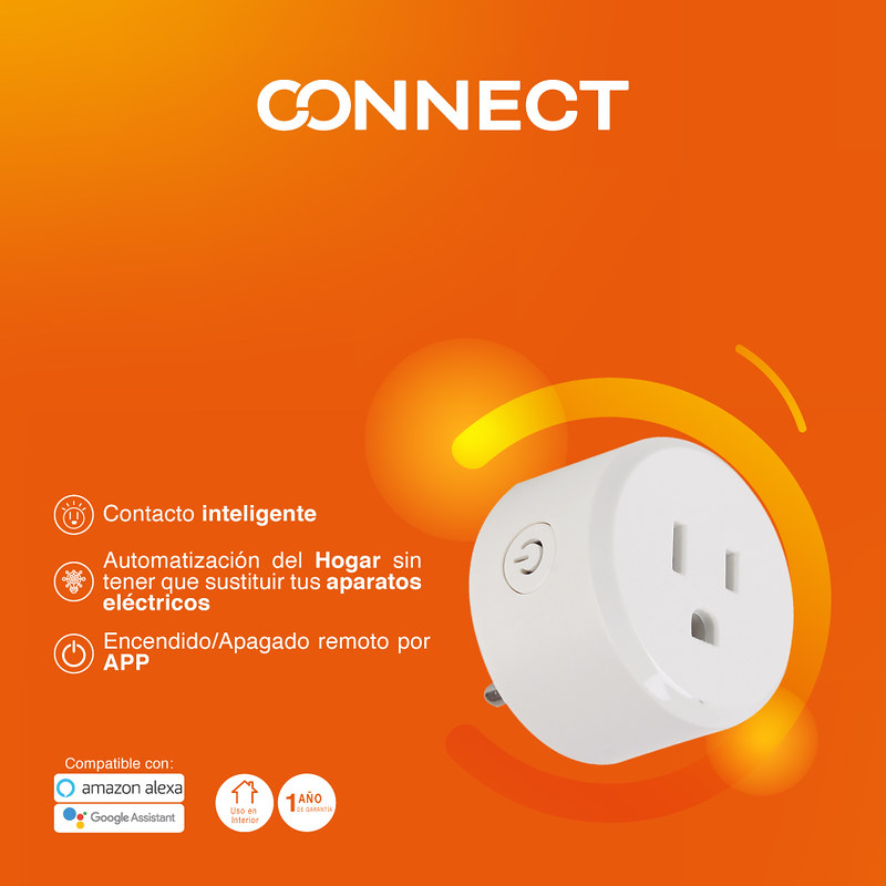 Tu hogar inteligente con Tecnolite Connect ¡conoce sus características! - contacto-inteligente-800x800
