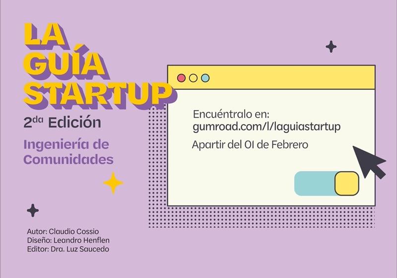 """Anuncian lanzamiento de la segunda edición del e-book """"La Guía Startup"""" - e-book-la-guia-startup-segunda-edicion-1"""