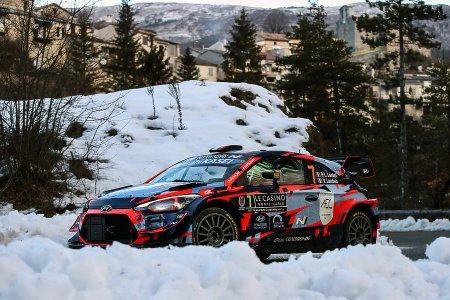 Hyundai Motorsport obtiene su primer podio del año en el WRC Montecarlo