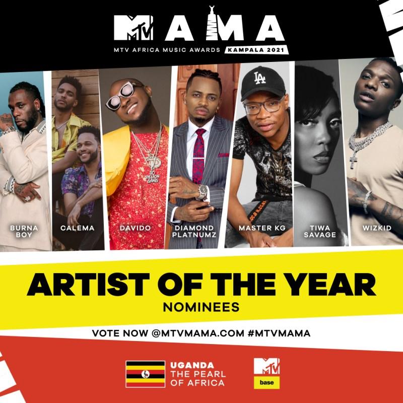 MTV transmitirá en vivo la premiación musical MTV Africa Music Awards kampala 2021 - mtv-africa-music-awards-kampala-2021-800x800
