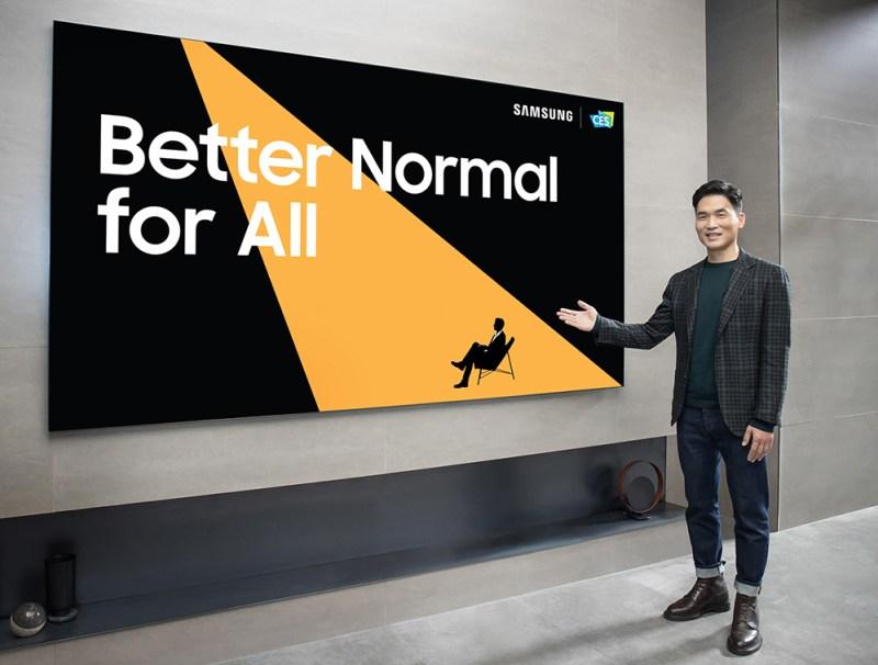 Samsung presenta sus últimas innovaciones en CES 2021 - samsung-ces-2021-tv-800x606