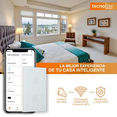 Tu hogar inteligente con Tecnolite Connect ¡conoce sus características!