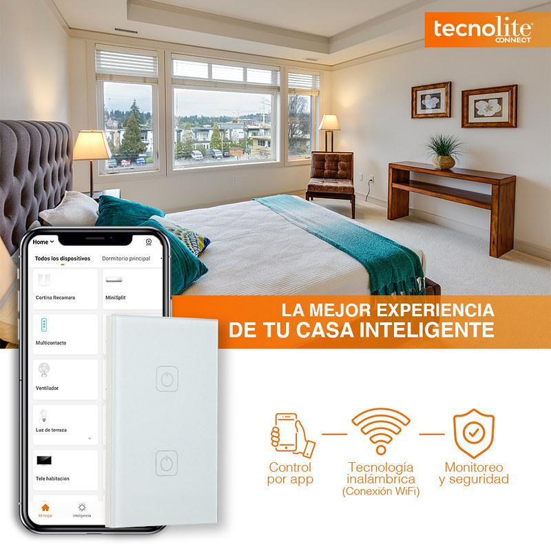 Tu hogar inteligente con Tecnolite Connect ¡conoce sus características! - tecnolite-connect-1-800x800