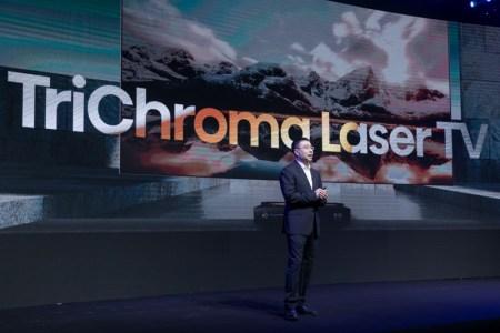 CES 2021: Hisense presenta la nueva TriChroma Laser TV