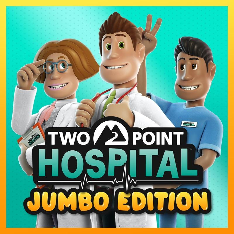 Two Point Hospital: La JUMBO Edition llegará a consolas el 5 de marzo - two-point-hospital-jumbo-edition-tphje-key-art-square-800x800