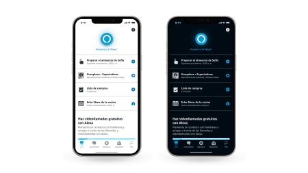 ¡La app de Alexa ya tiene modo oscuro! y conoce cómo configura rutinas con tu calendario y más
