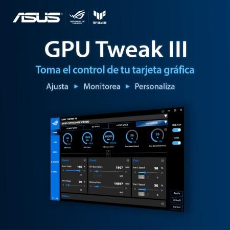 ASUS anuncia la versión Beta de GPU Tweak III