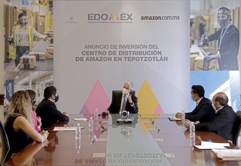 Amazon anuncia la próxima apertura de un nuevo centro logístico en el Estado de Méxicoa - centro-logistico-amazon