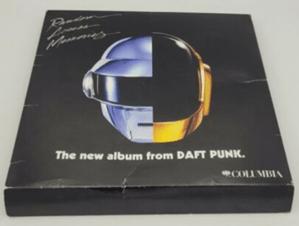 Tras el anuncio de su separación, las compras de artículos de Daft Punk en eBay crecieron por arriba del 500% - frisbee-daft-punk-random-access-memories