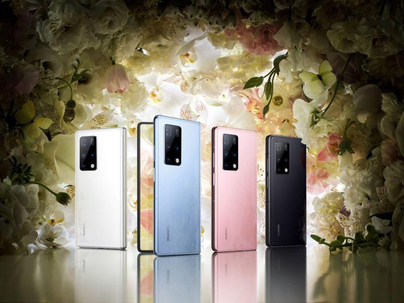 HUAWEI Mate X2, el smartphone insignia plegable de Huawei ¡Conoce sus características! - huawei-mate-x2-4-colors-800x600