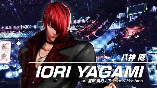 SNK revela un nuevo personaje de KOF XV y más sobre la season pass 3 de Samurai Shodown - iori-yagami