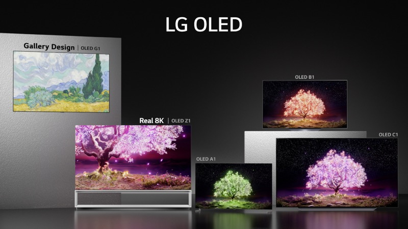 LG lanza nuevos línea de televisores 2021: OLED, QNED Mini LED y NanoCell - lg-oled-lineup