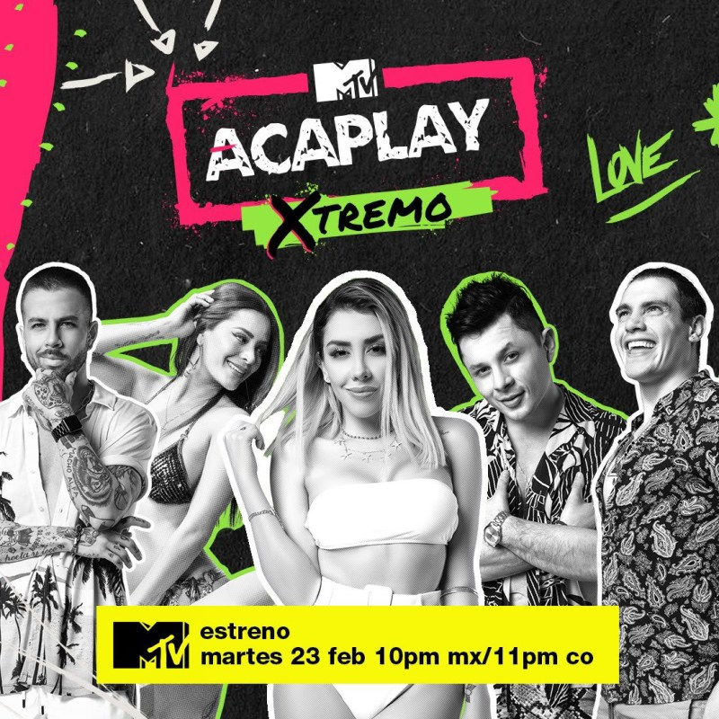 "MTV estrena temporada especial de Acapulco Shore ""Acaplay Xtremo"" - mtv-acaplay-xtremo-800x800"