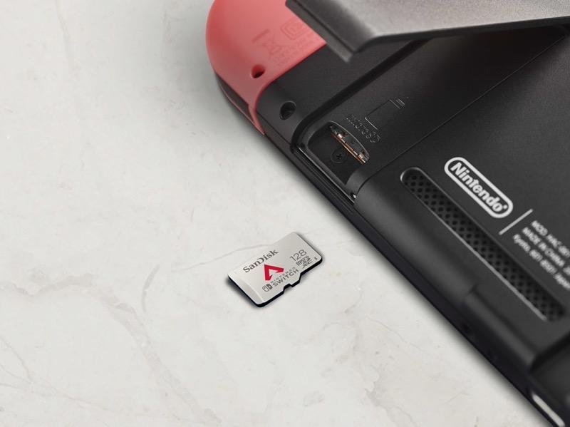 Nueva tarjeta de memoria Apex Legends de Western Digital para Nintendo Switch - nintendo-apex-sand-microsd-western-digital