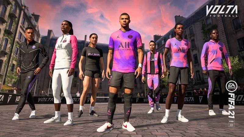 El 4to uniforme del Paris Saint-Germain ¡ya disponible en FIFA 21! - paris-saint-germain-fifa-21