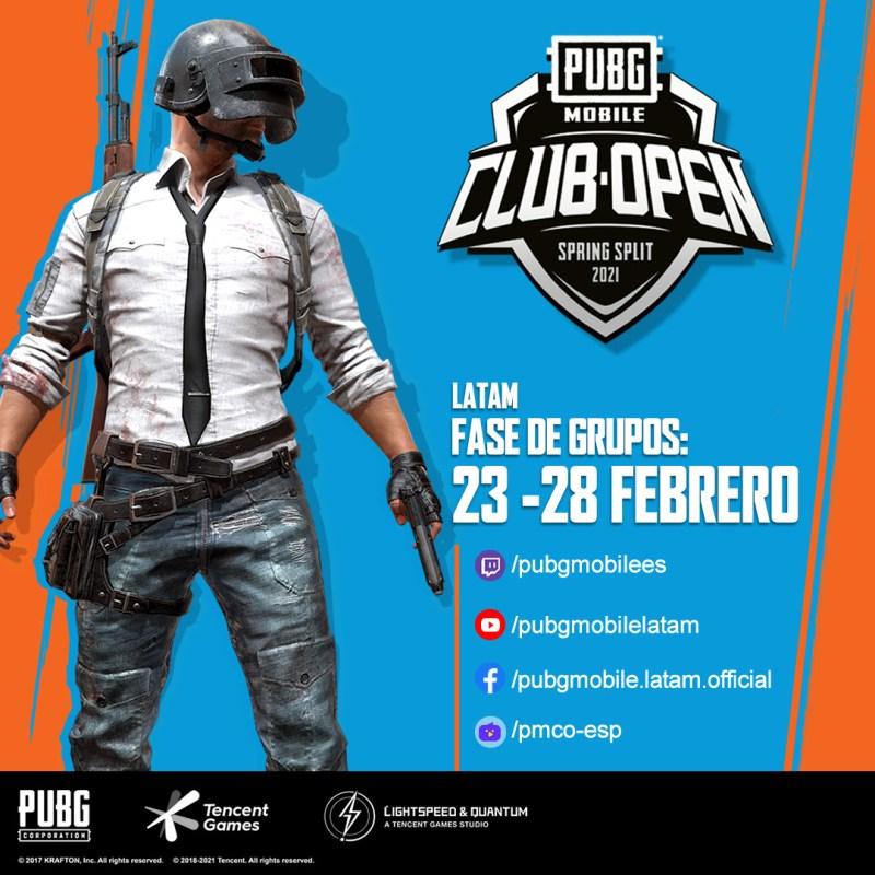 PUBG MOBILE Club Open 2021 comienza con grandes premios y un torneo exclusivo para México - pubg-mobile-club-open-2021-800x800