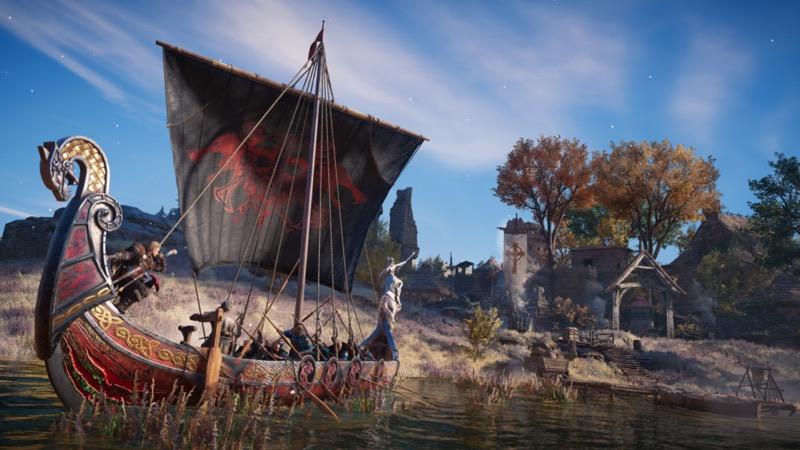 La actualización de la temporada de Yule de Valhalla presenta el modo de juego River Raids - temporada-de-yule-assassins-creed-valhalla
