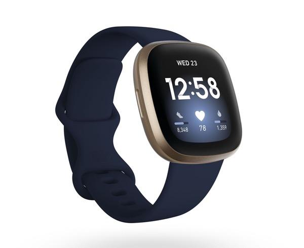 Opciones de dispositivos Fitbit para que puedas  elegir el mejor regalo para esa persona especial - versa-3-fitbit-1