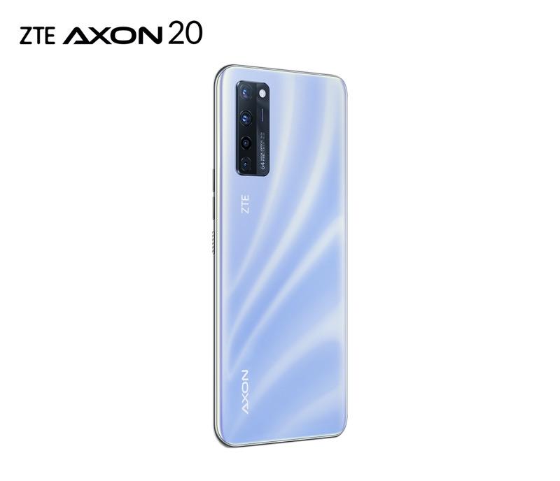 ZTE AXON 20 llega a México ¡conoce sus características y precio! - zte-axon-20-azul