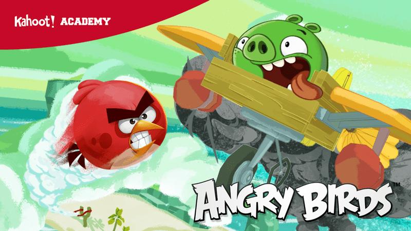 Kahoot! y Angry Birds: nueva colección de juegos para aprender sobre el cambio climático - angry-birds-kahoot