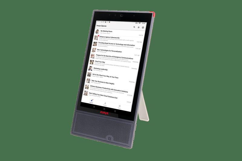 Nuevos dispositivos Avaya para una colaboración fluida y trabajar desde cualquier lugar - avaya-vantage-k175