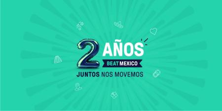 Beat celebra dos años de transformar la movilidad en México