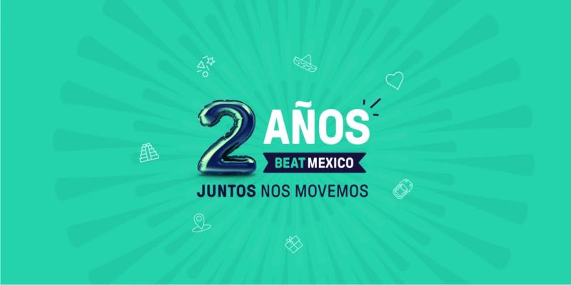 Beat celebra dos años de transformar la movilidad en México - beat-movilidad-en-mexico-800x400