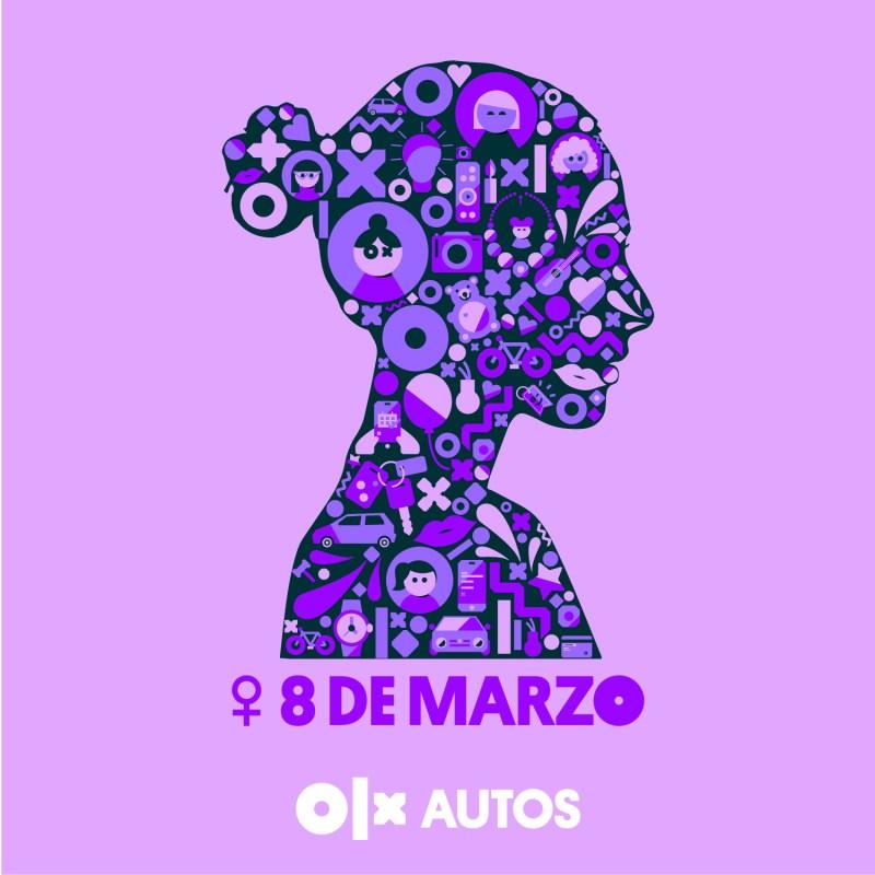 8M 2021: OLX Autos fomenta el empoderamiento femenino en la industria automotriz - dia-de-la-mujer-olx-autos-800x800