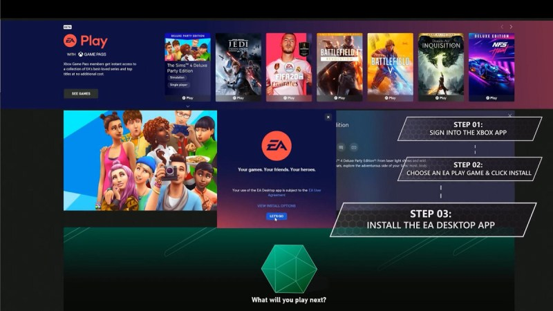 EA Play llega a Xbox Game Pass para PC desde mañana - ea-play-pc-800x450