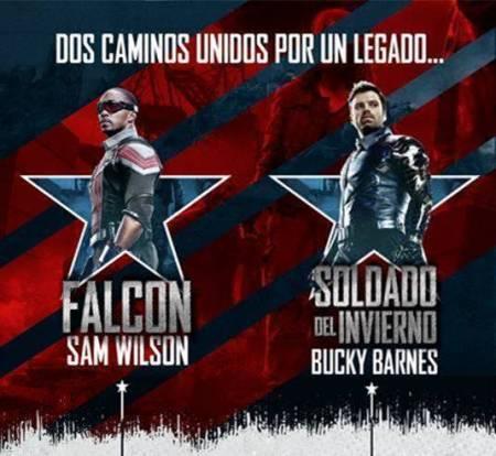 ¿Quiénes son Falcon y Soldado del Invierno?