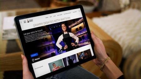 Experiencias digitales para fans en los GRAMMY impulsadas por IBM Watson