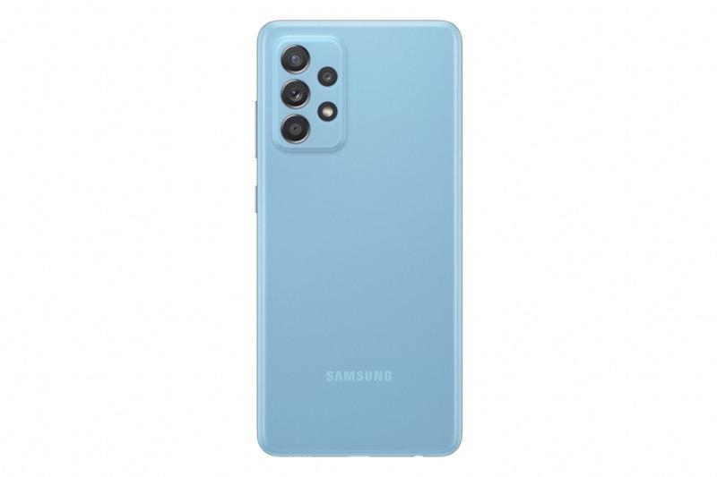 Nuevos smartphones de la Serie A de Samsung: Galaxy A72 y A52 ¡conoce sus características! - samsung-galaxy-a52-blue