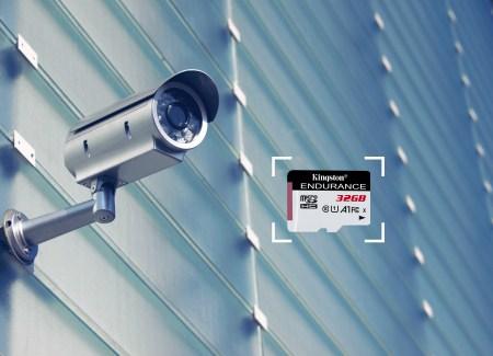Tarjetas microSD Kingston ideales para tu cámara de vigilancia en el hogar