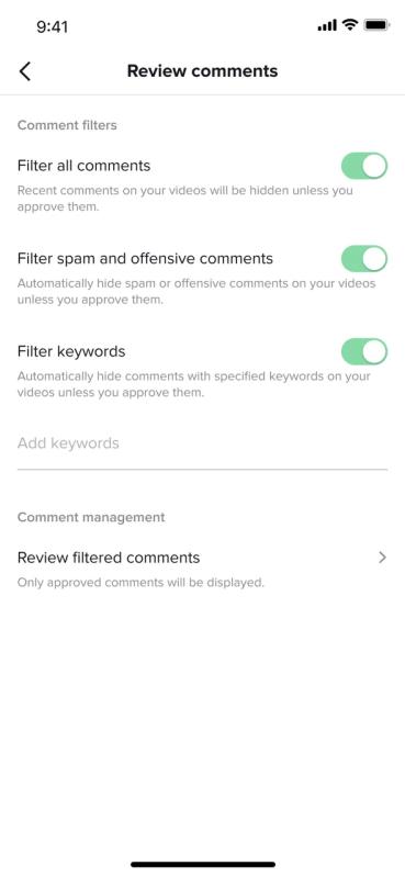 TikTok lanza herramientas para más control en los comentarios - tiktok-mas-control-en-los-comentarios