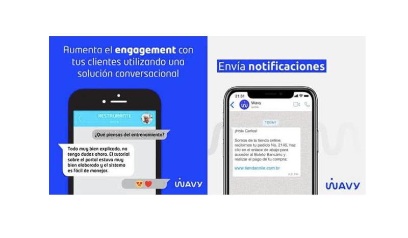 Wavy global registra aumento de 300% en envío de mensajes en 2020 - wavy-global-800x466