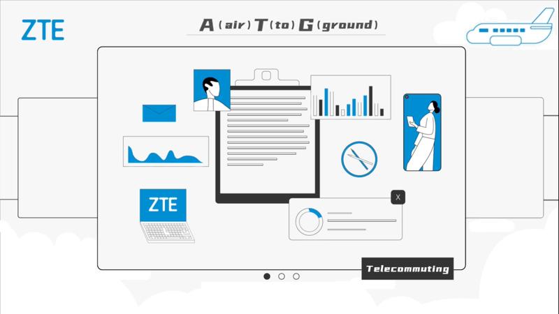 ZTE presenta 5G ATG servicio que revolucionará la conectividad en vuelos comerciales - zte-5g-atg