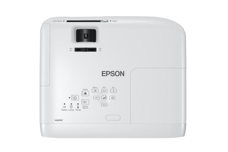 Videoproyector PowerLite E20 Epson, diseñado para que reinventes las áreas de tu hogar - 1-videoproyector-powerlite-e20