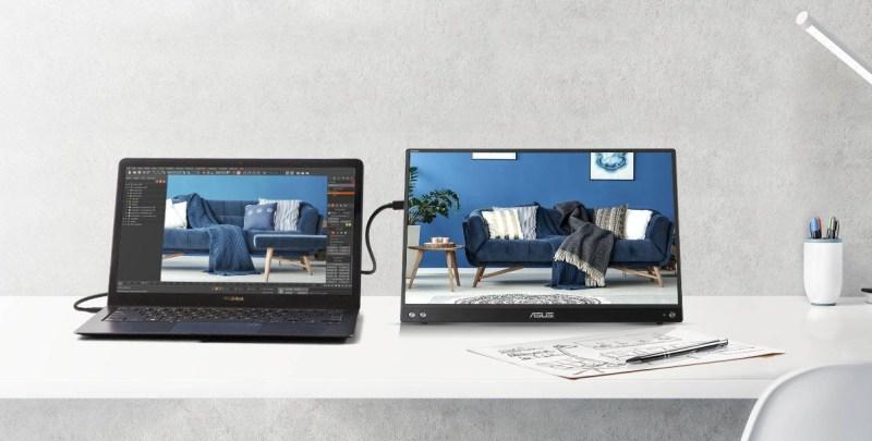 ZenScreen, primer monitor portátil con tratamiento de plata iónica incorporado para inhibir el crecimiento y la adhesión de las bacterias - asus-zenscreen-800x405